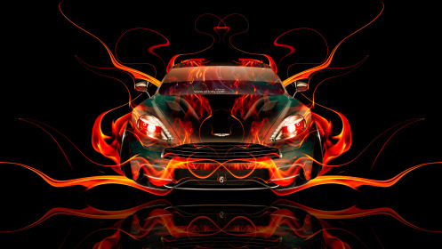 Aston-Martin-Vanquish-FrontUp-Super-Fire-Abstract-Car-2014-HD-Wallpapers-design-by-Tony-Kokhan-[www.el-tony.com]