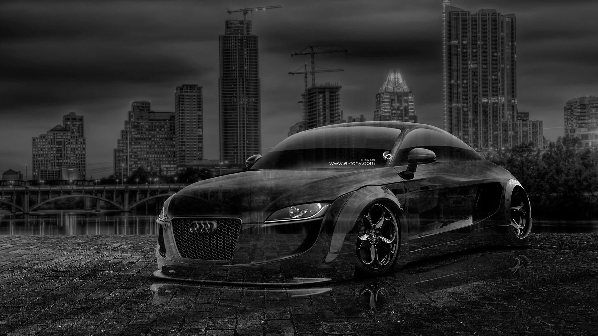 Bon Audi TT Tuning Crystal City Car 2014