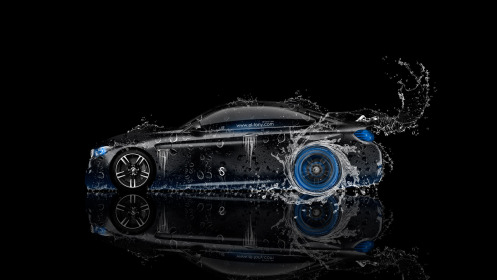 BMW-M4-Coupe-Side-Water-Car-2014-Blue-Neon-HD-Wallpapers-design-by-Tony-Kokhan-[www.el-tony.com]