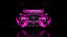 BMW-X4-Front-Pink-Fire-Abstract-Car-2014-HD-Wallpapers-design-by-Tony-Kokhan-[www.el-tony.com]