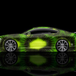 4K Bentley Continental GT Side Kiwi Aerography Car 2014