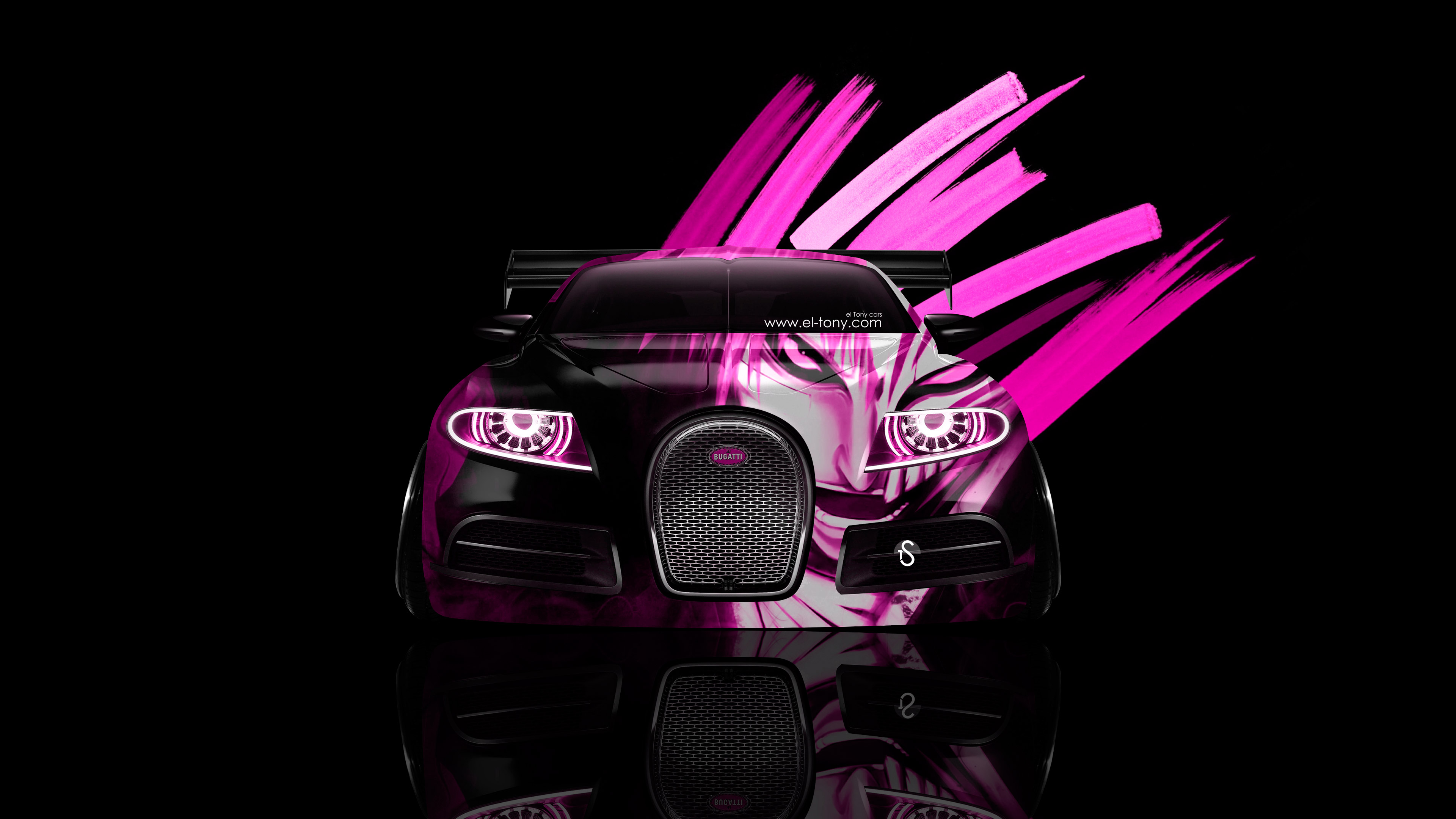 Charmant K Bugatti C Galibier Front Anime Bleach Aerography Car.