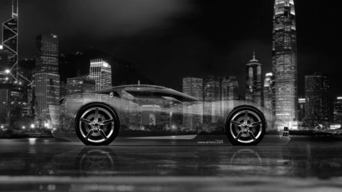 Chevrolet-Corvette-Stingray-Concept-Side-Crystal-City-Car-2014-Black-White-Colors-4K-Wallpapers-design-by-Tony-Kokhan-[www.el-tony.com]