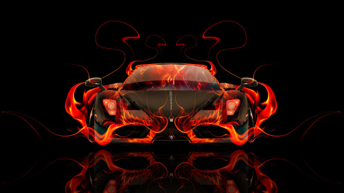 Ferrari-Enzo-Front-Fire-Abstract-Car-2014-Art-HD-Wallpapers-design-by-Tony-Kokhan-[www.el-tony.com]