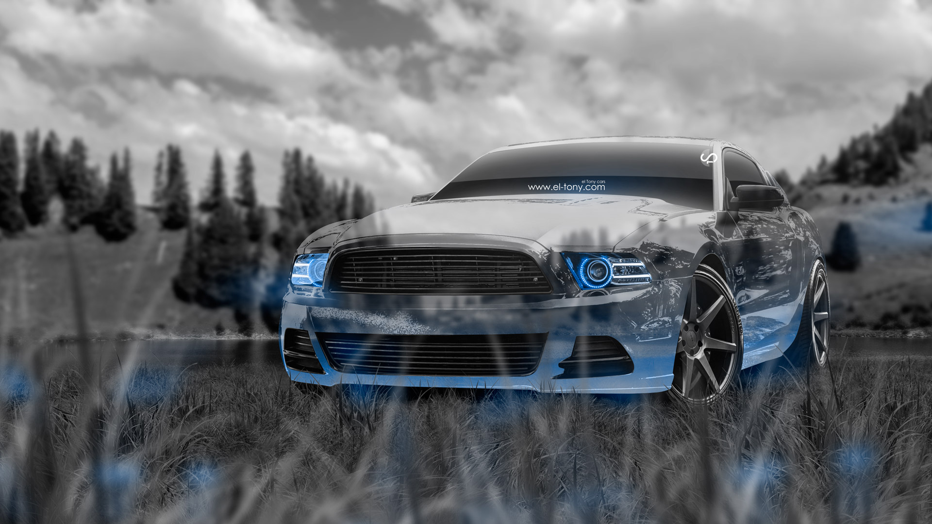 Superieur ... Ford Mustang GT Muscle Crystal Nature Car 2014  ...