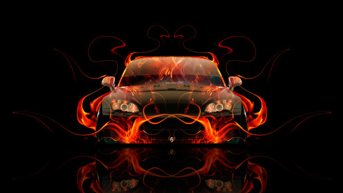Honda-S2000-JDM-Front-Fire-Abstract-Car-2014-HD-Wallpapers-design-by-Tony-Kokhan-[www.el-tony.com]
