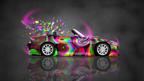 Honda-S2000-JDM-Side-Roadster-Domo-Kun-Toy-Car-2014-Multicolors-HD-Wallpapers-design-by-Tony-Kokhan-[www.el-tony.com]