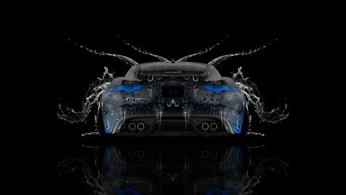 Jaguar-F-Type-Back-Water-Car-2014-Blue-Neon-HD-Wallpapers-design-by-Tony-Kokhan-[www.el-tony.com]
