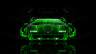 Lamborghini-Countach-Front-Green-Fire-Abstract-Car-2014-HD-Wallpapers-design-by-Tony-Kokhan-[www.el-tony.com]