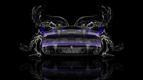 Lamborghini-Huracan-Back-Water-Car-2014-Violet-Neon-HD-Wallpapers-design-by-Tony-Kokhan-[www.el-tony.com]