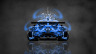 Mazda-RX7-VeilSide-JDM-Back-Domo-Kun-Toy-Car-2014-Art-Blue-Colors-HD-Wallpapers-design-by-Tony-Kokhan-[www.el-tony.com]
