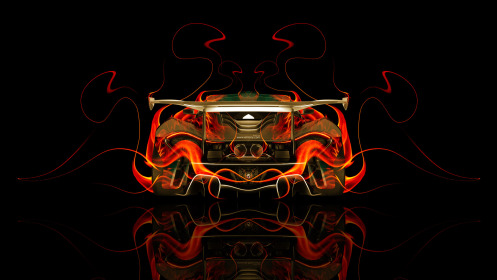 McLaren-P1-GTR-BackUp-Fire-Abstract-Car-2014-HD-Wallpapers-design-by-Tony-Kokhan-[www.el-tony.com]