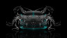 Mercedes-Benz-Coupe-Front-Water-Car-2014-Azure-Neon-HD-Wallpapers-design-by-Tony-Kokhan-[www.el-tony.com]