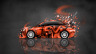 Mitsubishi-Lancer-Evolution-X-JDM-Side-Domo-Kun-Toy-Car-2014-Orange-Colors-HD-Wallpapers-design-by-Tony-Kokhan-[www.el-tony.com]