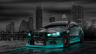 Mitsubishi-Lancer-Evolution-X-Tuning-JDM-Crystal-City-Car-2014-Azure-Neon-HD-Wallpapers-design-by-Tony-Kokhan-[www.el-tony.com]