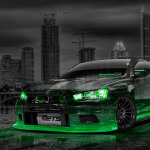 Mitsubishi Lancer Evolution X Tuning JDM Crystal City Car 2014