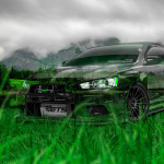 Mitsubishi Lancer Evolution X Tuning JDM Crystal Nature Car 2014