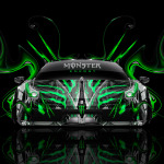 Monster Energy Ferrari 458 Italia Front Plastic Car 2014