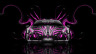 Monster-Energy-Ferrari-458-Italia-Front-Plastic-Car-2014-Pink-Neon-Effects-HD-Wallpapers-design-by-Tony-Kokhan-[www.el-tony.com]