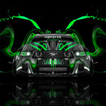 Monster Energy Ford Mustang GT Front Plastic Car 2014