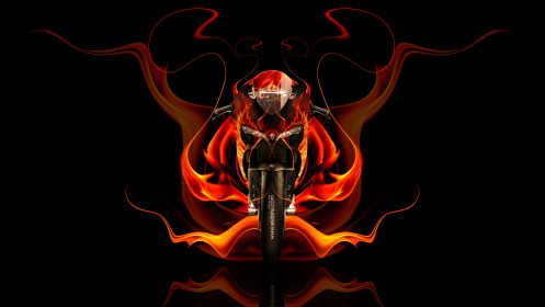 Moto-Ducati-1199-Front-Fire-Abstract-Bike-2014-HD-Wallpapers-design-by-Tony-Kokhan-[www.el-tony.com]