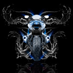 Moto Suzuki GSX R1000 Back Water Bike 2014