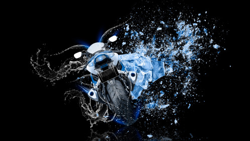 Moto-Suzuki-GSX-R1000-Back-Water-Bike-Ice-Shot-Style-2014-Blue-Neon-HD-Wallpapers-design-by-Tony-Kokhan-[www.el-tony.com]