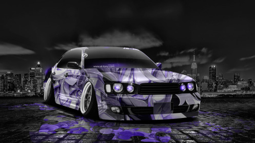 Nissan-Cedric-JDM-Tuning-Anime-Girl-Aerography-City-Car-2014-Violet-Neon-Colors-HD-Wallpapers-design-by-Tony-Kokhan-[www.el-tony.com]