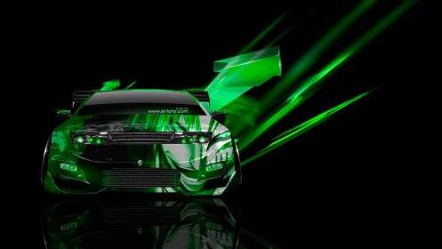 Nissan-Fairlady-300ZX-JDM-Tuning-Front-Anime-Bleach-Aerography-Car-2014-Green-Neon-Effects-HD-Wallpapers-design-by-Tony-Kokhan-[www.el-tony.com]