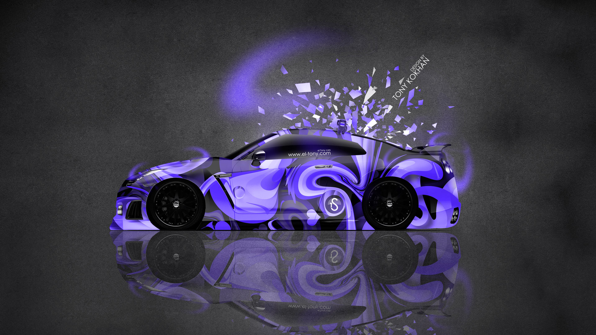 Wallpapers Nissan Gtr R35 Jdm Tuning Side Domo Kun Toy Car 2014
