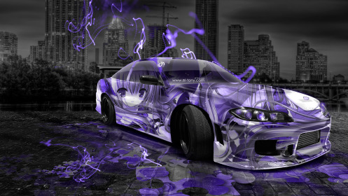 Nissan-Silvia-240SX-Facelift-S15-JDM-Anime-Girl-Aerography-City-Car-2014-Violet-Neon-Effects-HD-Wallpapers-design-by-Tony-Kokhan-[www.el-tony.com]