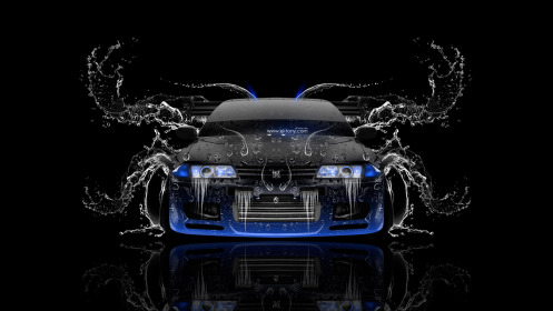 Nissan-Skyline-GTR-R32-JDM-Front-Water-Car-2014-Blue-Neon-HD-Wallpapers-design-by-Tony-Kokhan-[www.el-tony.com]