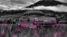 Porsche-911-Turbo-1976-Tuning-Crystal-Nature-Car-2014-Pink-Neon-HD-Wallpapers-design-by-Tony-Kokhan-[www.el-tony.com]