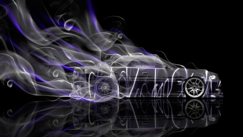 Toyota-Chaser-JZX100-JDM-Side-Smoke-Drift-Car-2014-Art-Violet-Neon-HD-Wallpapers-design-by-Tony-Kokhan-[www.el-tony.com]