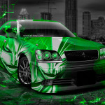 Toyota Crown Athlete JDM Anime Bleach Aerography City Car 2014