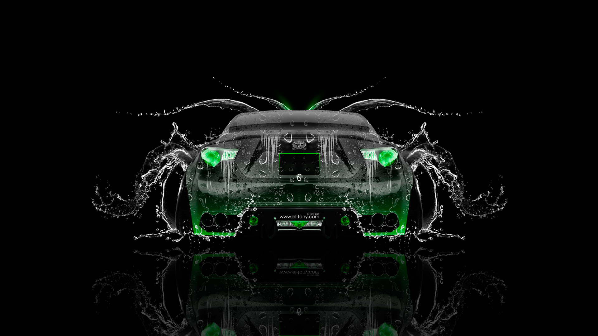 Toyota GT86 JDM Tuning Back Water Car 2014