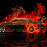 Toyota Mark2 JZX90 JDM Fire Drift Car 2014