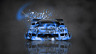 Toyota-Soarer-JDM-Tuning-Front-Domo-Kun-Toy-Car-2014-Blue-Colors-HD-Wallpapers-design-by-Tony-Kokhan-[www.el-tony.com]