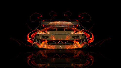Toyota-Soarer-JDM-Tuning-Front-Fire-Abstract-Car-2014-Photoshop-Art-HD-Wallpapers-design-by-Tony-Kokhan-[www.el-tony.com]