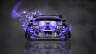 Toyota-Supra-JDM-Tuning-Front-Domo-Kun-Toy-Car-2014-Violet-Colors-HD-Wallpapers-design-by-Tony-Kokhan-[www.el-tony.com]