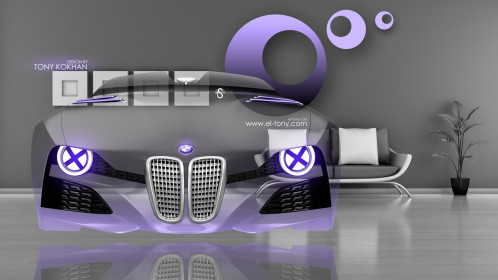 BMW-328-Hommage-Front-Fantasy-Crystal-Home-Fly-Car-2014-Violet-Neon-Colors-HD-Wallpapers-design-by-Tony-Kokhan-[www.el-tony.com]