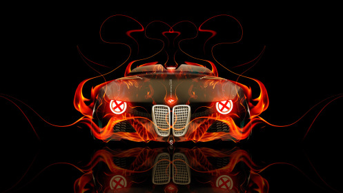 BMW-328-Hommage-Front-Fire-Abstract-Car-2014-HD-Wallpapers-design-by-Tony-Kokhan-[www.el-tony.com]