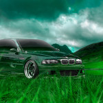 BMW M3 Tuning Crystal Nature Car 2014