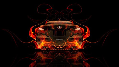 BMW-M5-E60-Back-Fire-Abstract-Car-2014-HD-Wallpapers-design-by-Tony-Kokhan-[www.el-tony.com]