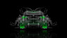 BMW-X6-Back-Water-Car-2014-Green-Neon-HD-Wallpapers-design-by-Tony-Kokhan-[www.el-tony.com]