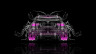 BMW-X6-Back-Water-Car-2014-Pink-Neon-HD-Wallpapers-design-by-Tony-Kokhan-[www.el-tony.com]
