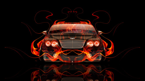 Bentley-Continental-GT-Front-Fire-Abstract-Car-2014-HD-Wallpapers-design-by-Tony-Kokhan-[www.el-tony.com]