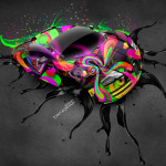 Bugatti Veyron Fantasy Live Colors Car 2014