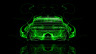 Dodge-Challenger-Muscle-Back-Green-Fire-Abstract-Car-2014-Art-HD-Wallpapers-design-by-Tony-Kokhan-[www.el-tony.com]