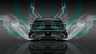 Dodge-Challenger-Muscle-Back-Smoke-Car-2014-Azure-Neon-4K-Wallpapers-design-by-Tony-Kokhan-[www.el-tony.com]